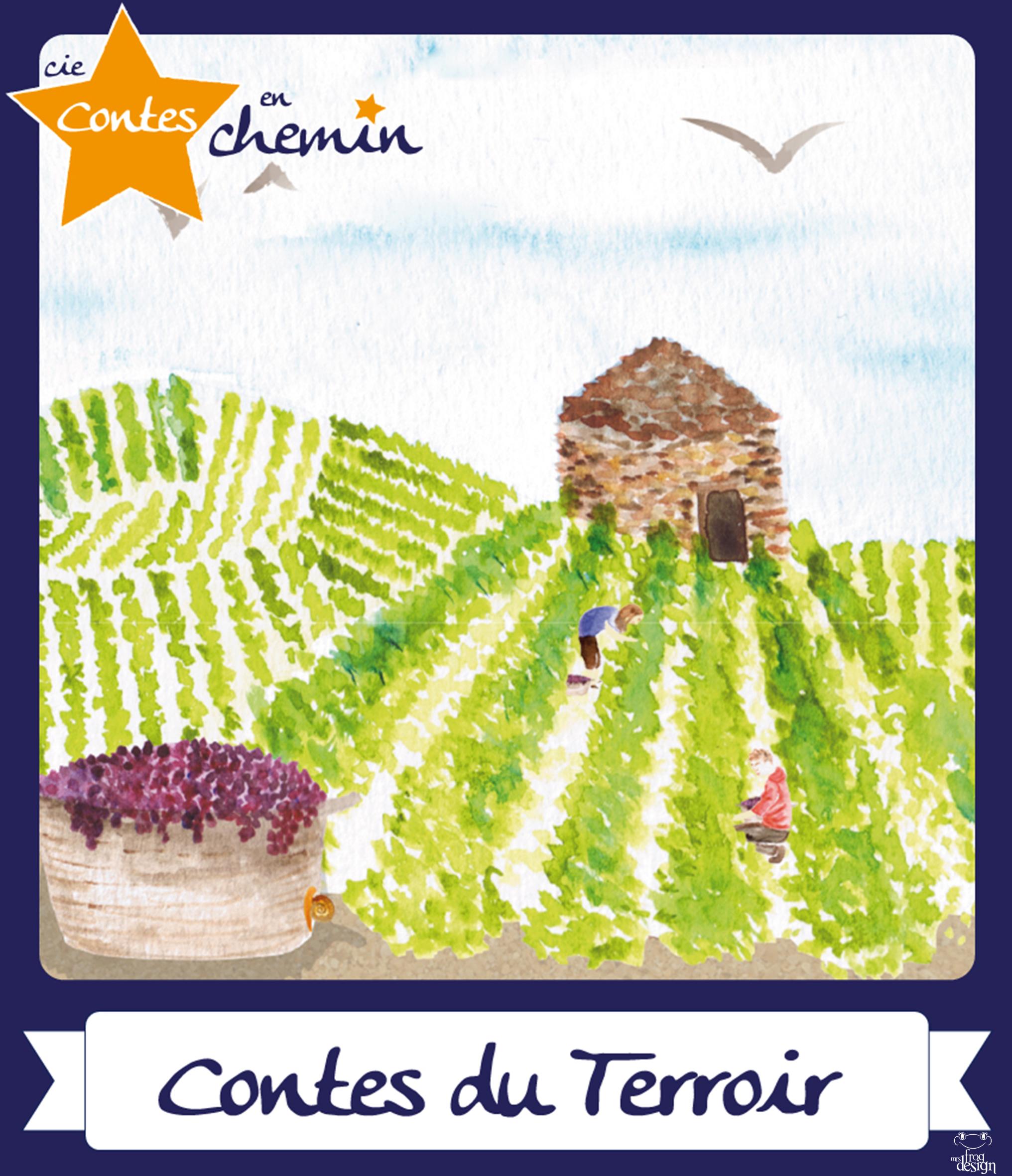 Affiche, contes de Bourgogne