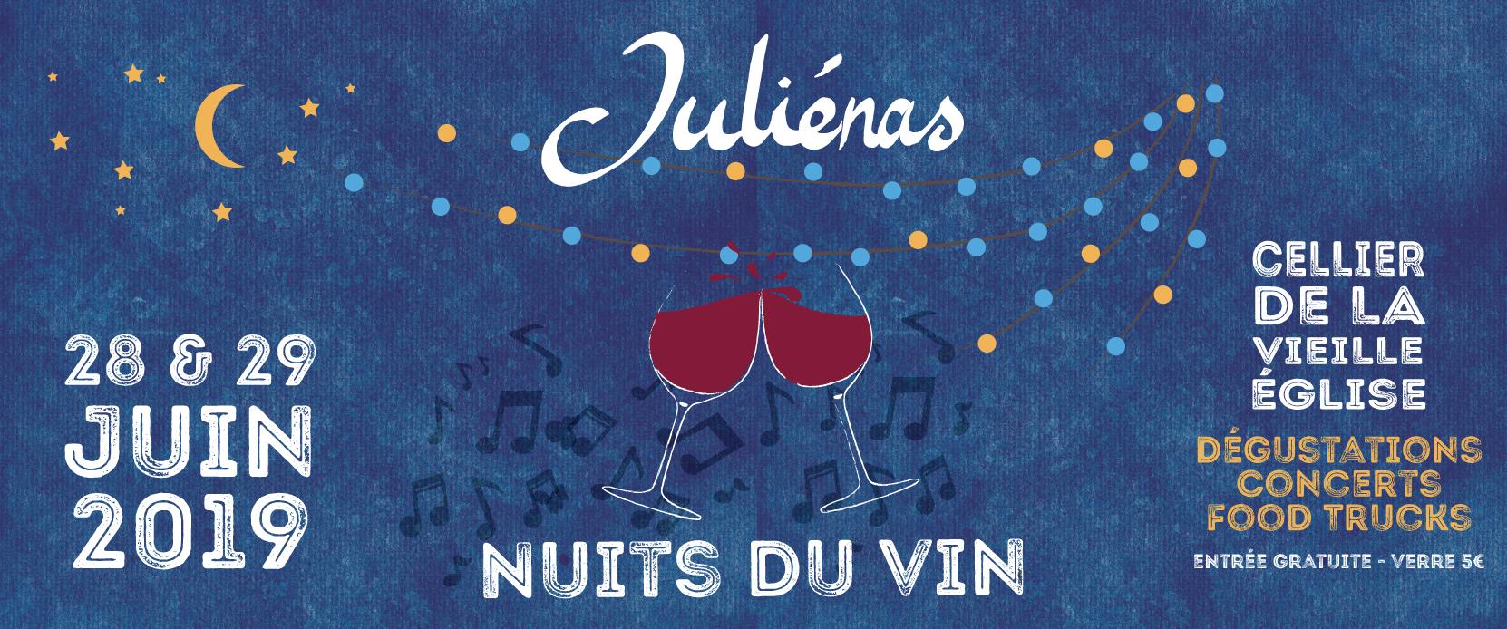 Affiche Nuits du vin
