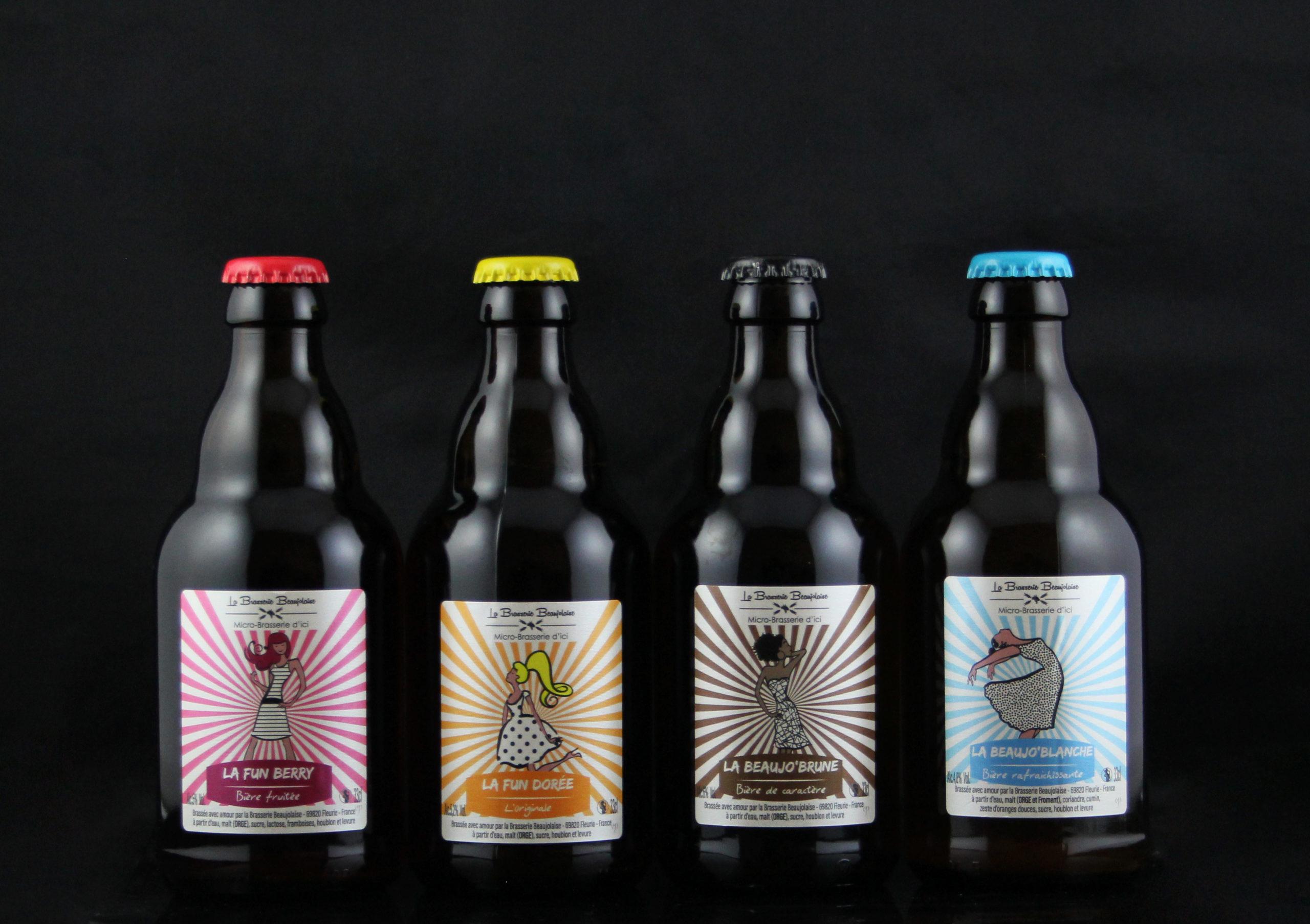 étiquettes de bière