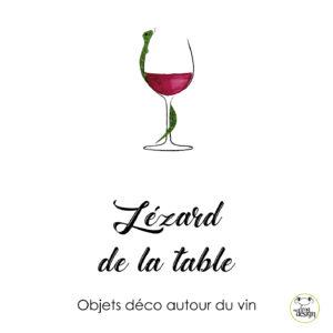 Lezard de la table